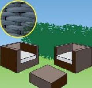 gartenm bel kunststoff rattan. Black Bedroom Furniture Sets. Home Design Ideas