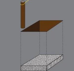 zaunpfosten beton top pfosten x x cm with zaunpfosten. Black Bedroom Furniture Sets. Home Design Ideas