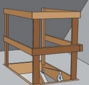 dachbodentreppe selbst einbauen praktiker marktplatz. Black Bedroom Furniture Sets. Home Design Ideas