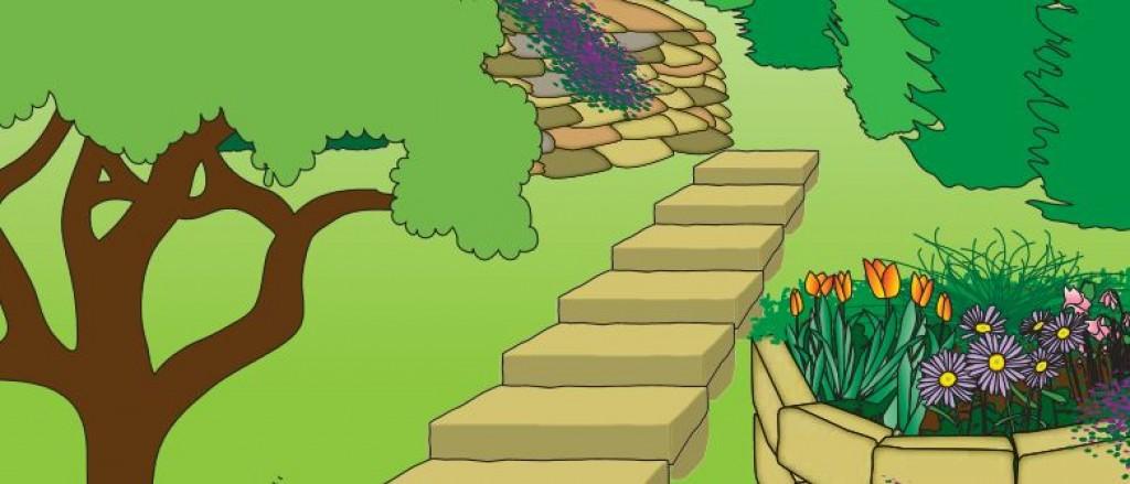 Gut bekannt Natursteine im Garten: Mauer und Treppe bauen - Praktiker Marktplatz BY41