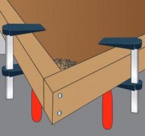 M bel restaurieren und reparieren praktiker marktplatz - Tischplatte ecke ...