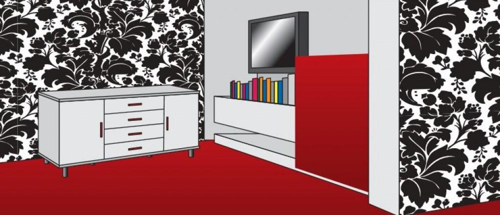 Farben, Muster Und Tapetenmaterial Eröffnen Unendlich Viele Möglichkeiten,  Ihrer Wohnung Auf Recht Günstige Weise Ein Gründlich Verändertes Gesicht ...